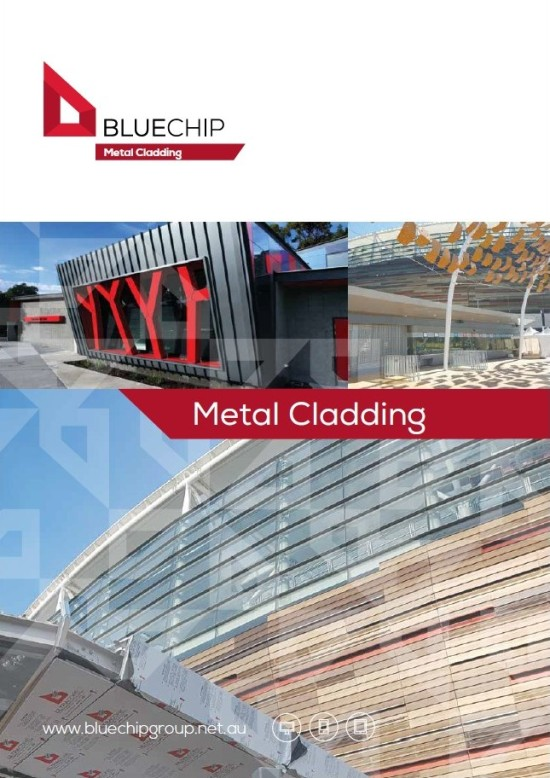 BLUECHIP | Metal Cladding Perth, All Prefinished Cladding Types