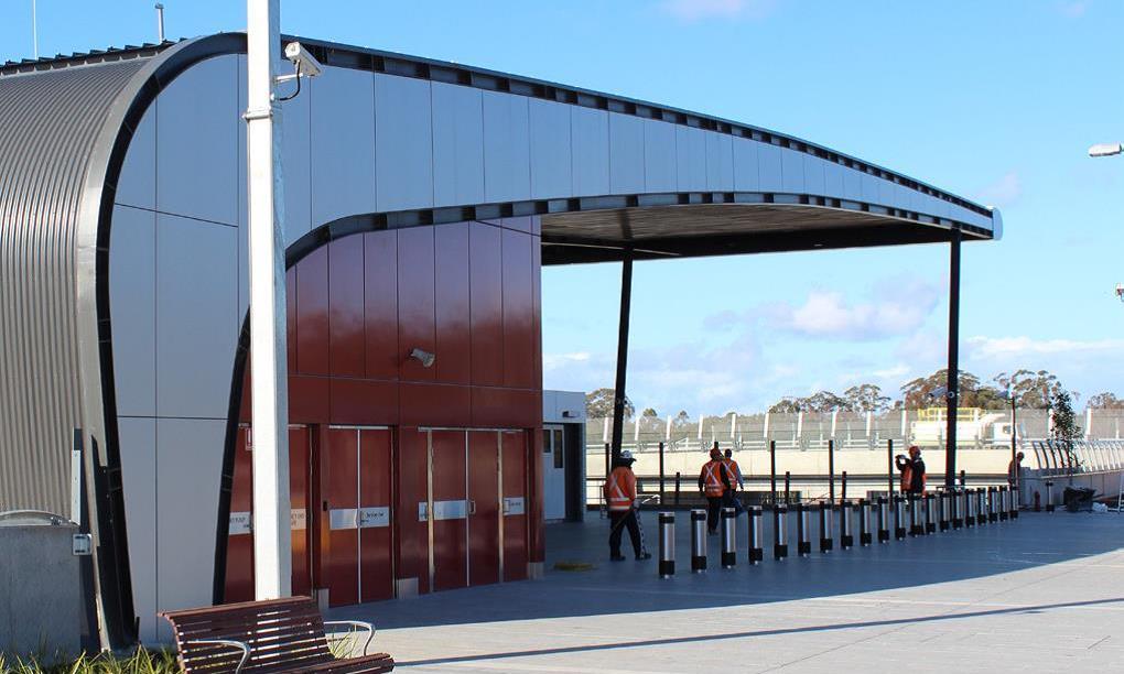 Edmondson Train Station