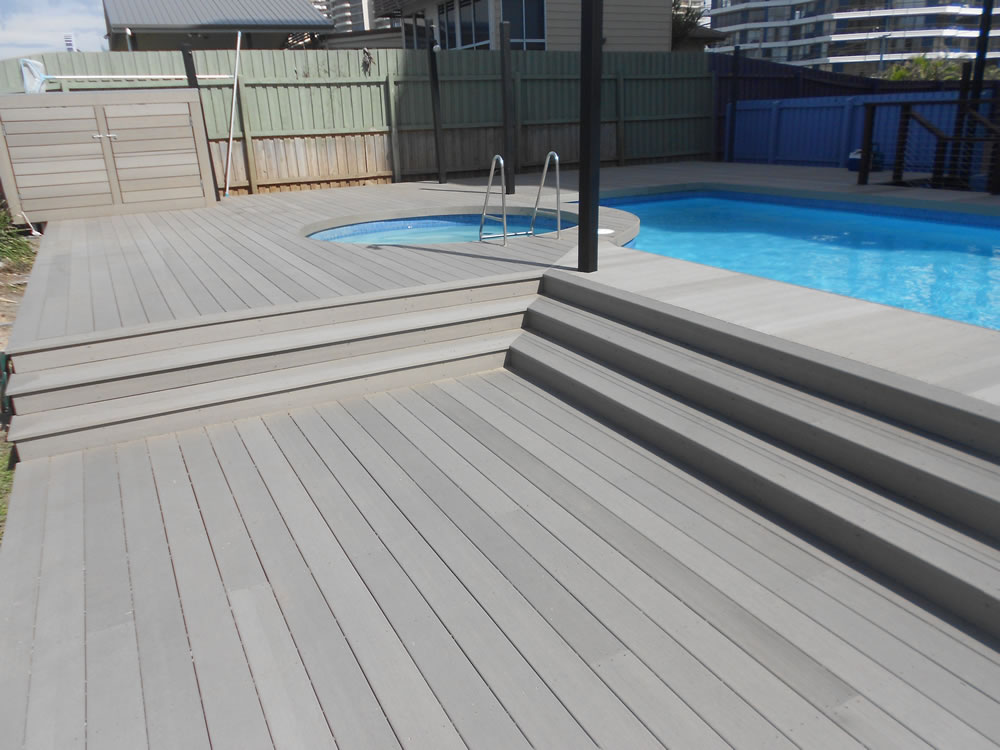 Durodeck timber composite decking perth formerly for Outside decking material